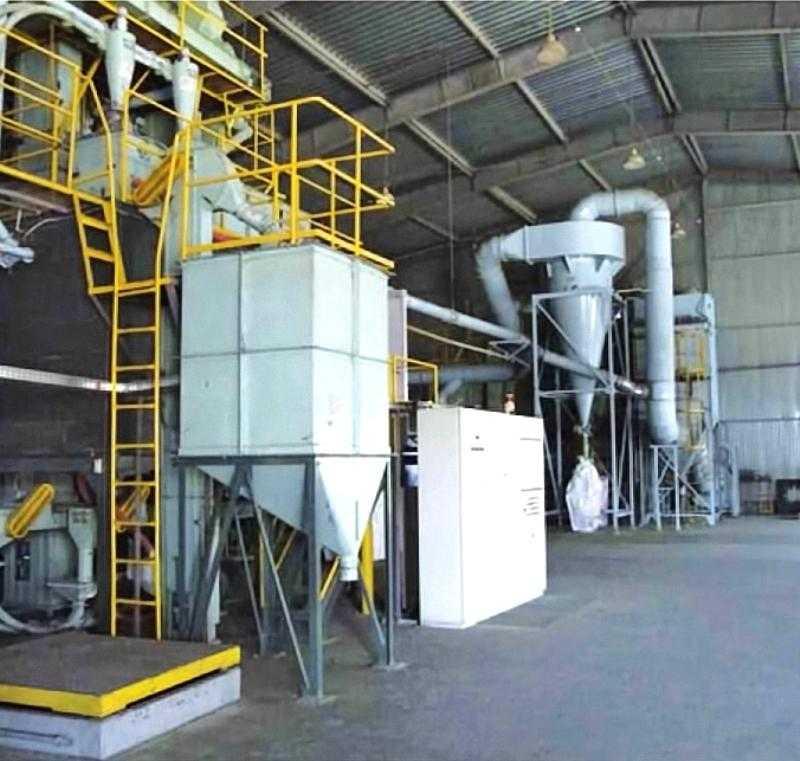 Производительность семенного завода составляет 5 тонн в час