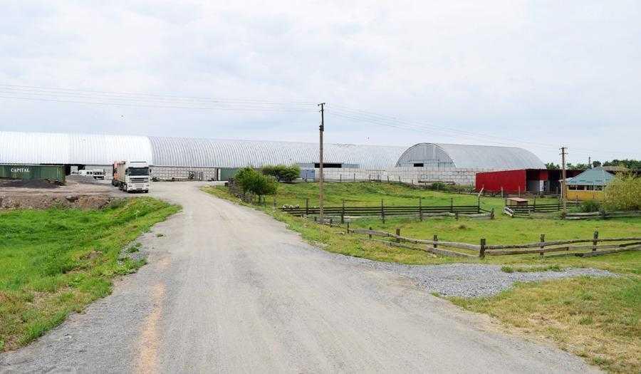 Господарство має власні склади для зберігання продукції в обсязі 18 тисяч тонн