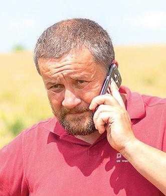 Роман Папроцький, директор агрофірми «Лугове»