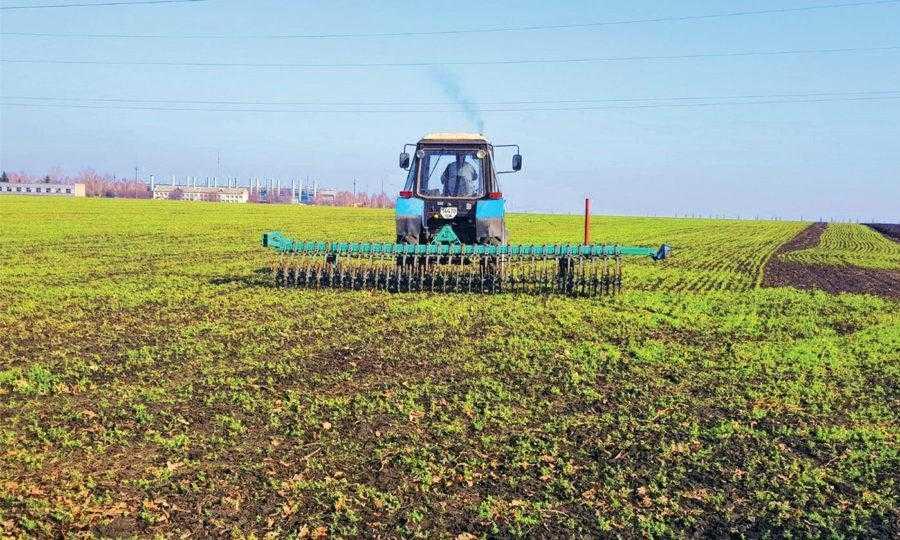 Весняний обробіток ротаційною бороною дозволяє заробити добрива та розбити ґрунтову кірку, даючи рослинам більше повітря