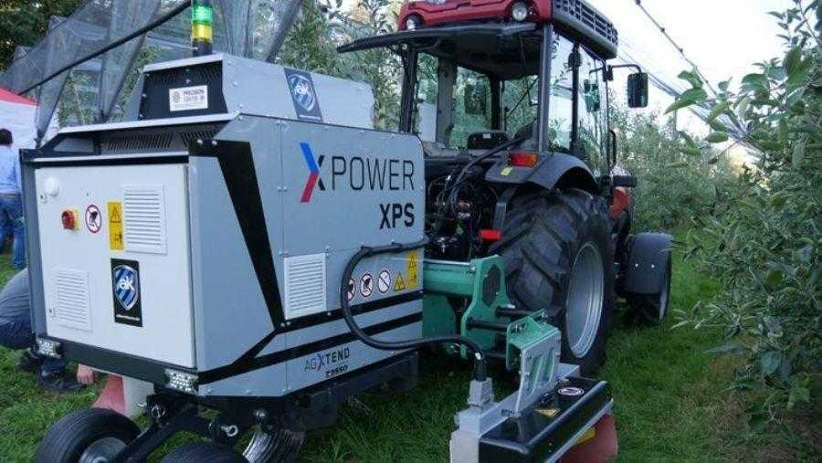 Висока напруга знищує бур`яни у садах та виноградниках