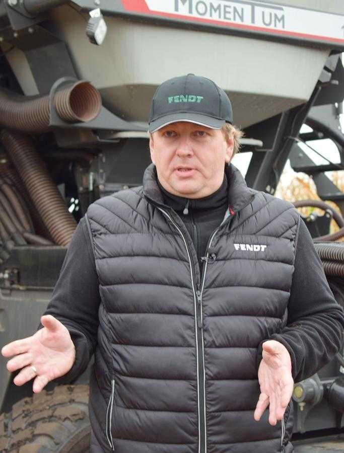 Антон Костирко, директор із маркетингу корпорації AGCO в Україні та країнах Східної Європи