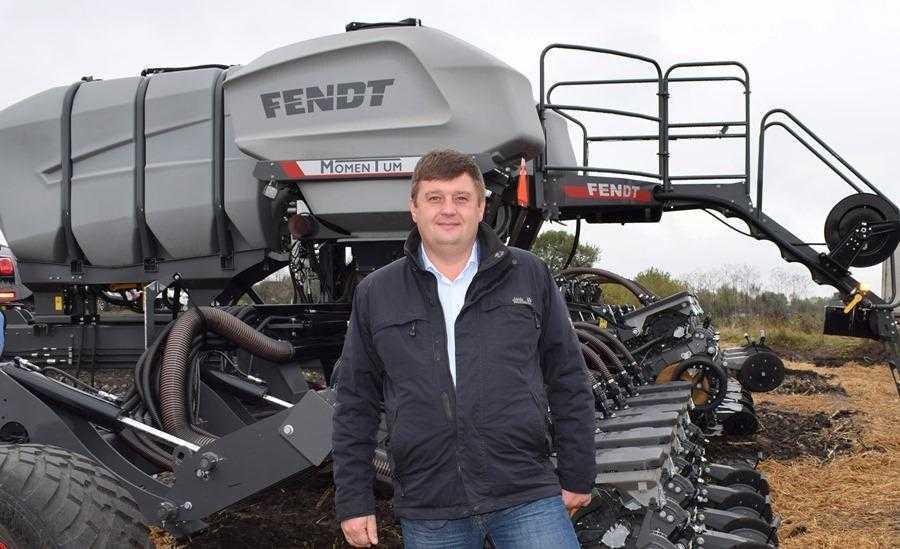 Михайло Завада, директор компанії «Агроструктура», офіційного дилера техніки Fendt в Україні