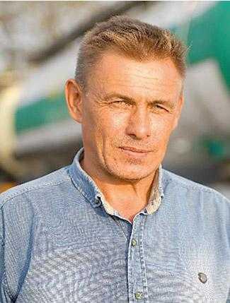 Сергій Вакуленко, агроном МТС Агрофірми «Обрій»
