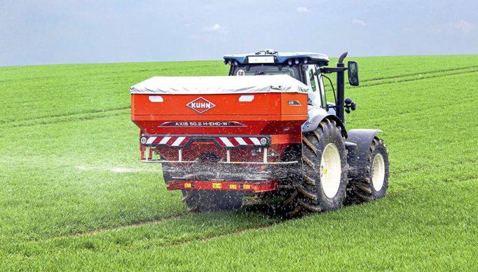 Поверхневе внесення азотних добрив на пшениці-1
