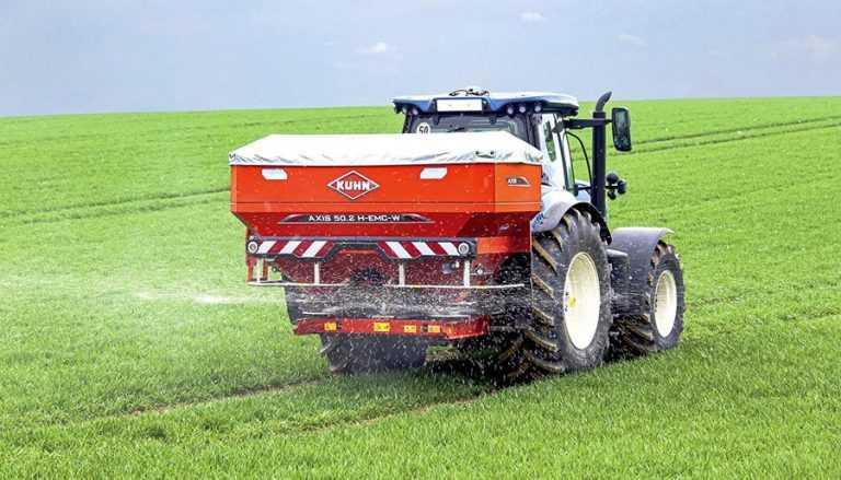 Найкращий час для поверхневого внесення азоту на пшениці