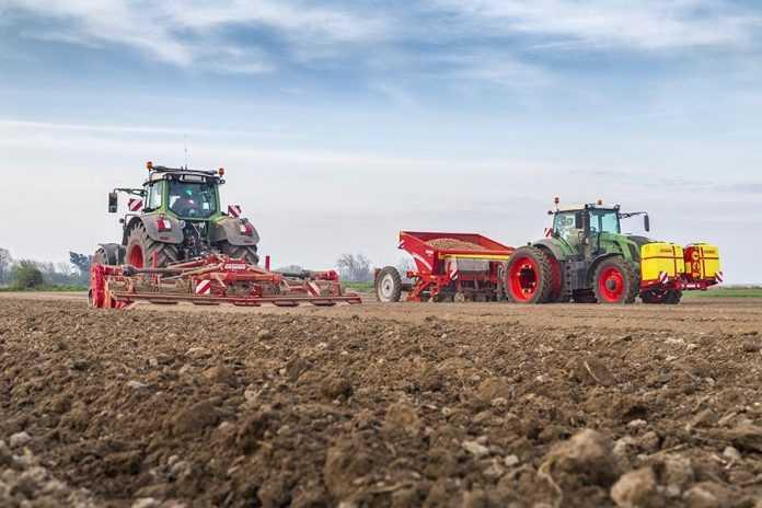 Оптимізація роботи техніки для посадки картоплі