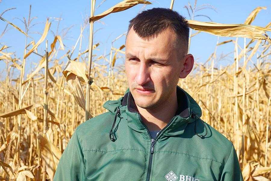 Юрій Нагорний, агроном компанії ВНІС