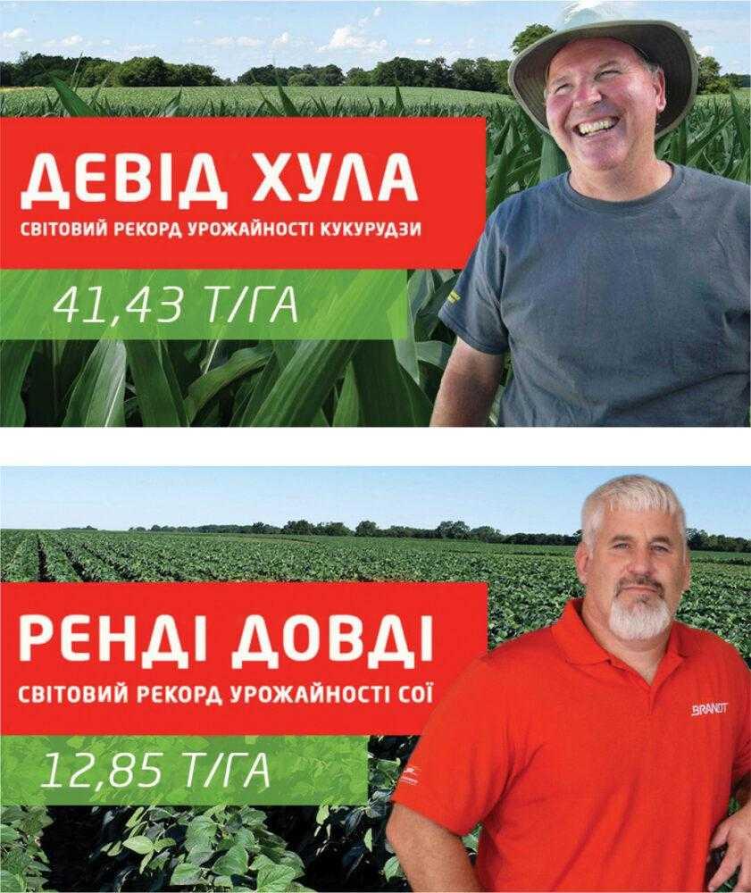 Світові рекорди урожайності, отриманні з використанням добрив лінійки БРЕНДТ Смарт Сістем®