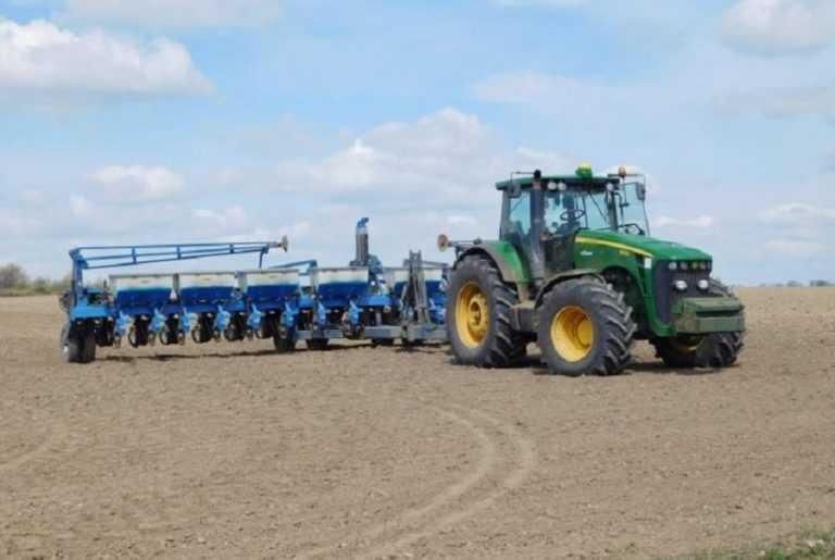 В Україні посіяли 4,4 млн га ярих зернових та зернобобових культур