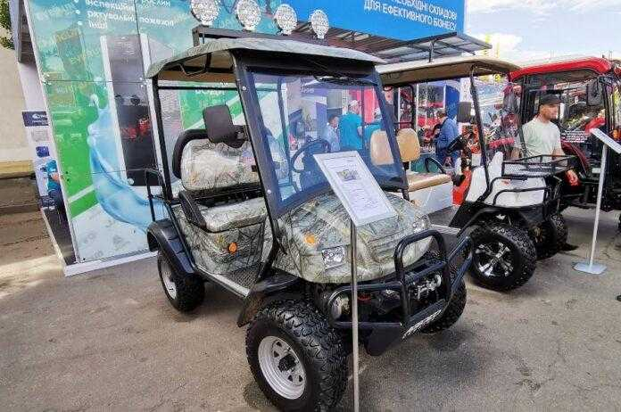 На українському ринку з'явилися електрокари для аграріїв