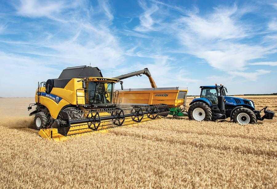 Потрібен ефективний зернозбиральний комбайн – зверніть увагу на New Holland2
