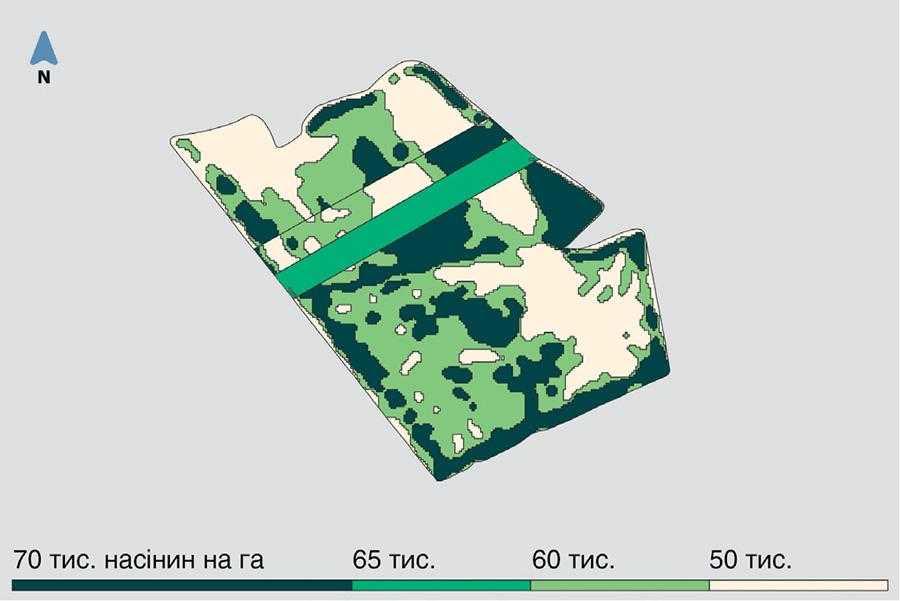Карта-завдання для поля Людмила