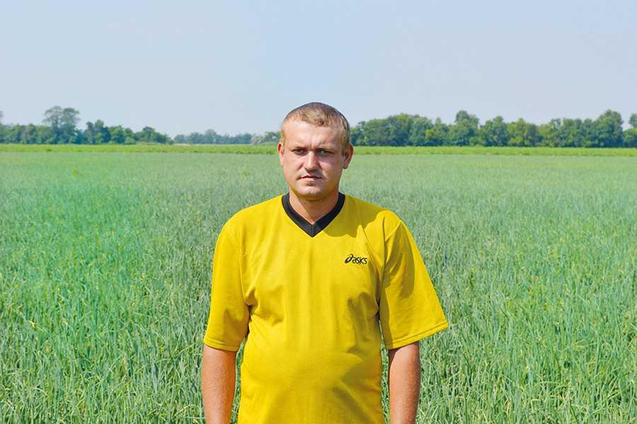 Олександр Ніколаєв, агроном ФГ «Чайка»