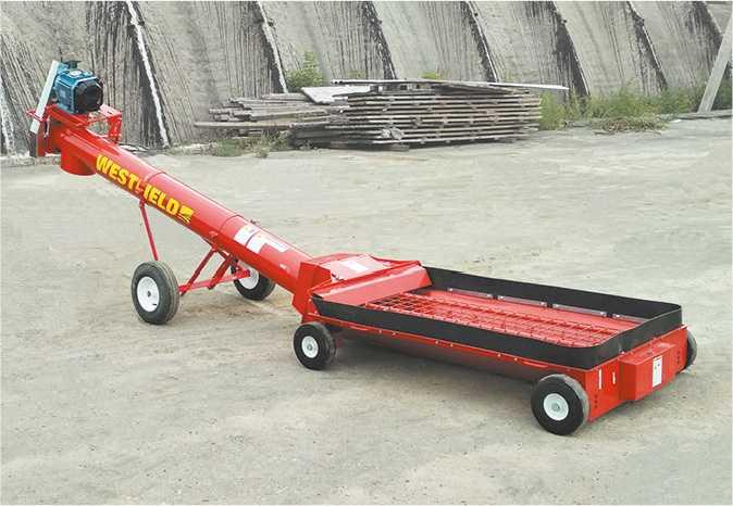 Приймальний шнековий транспортер WESTFIELD S10-9LP