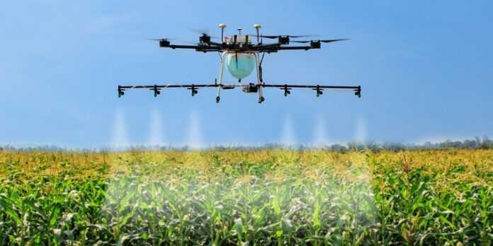 Створено додаток для визначення якості обприскування рослин пестицидами із дронів